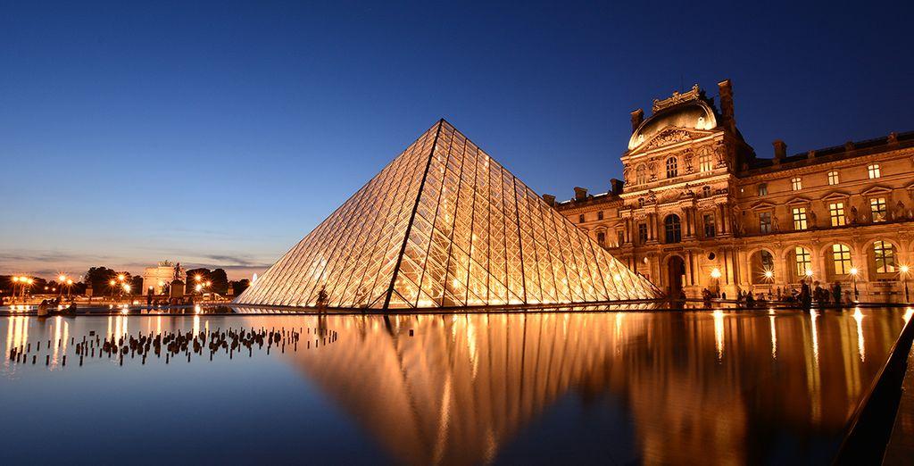 Visita los mejores museos de París, como el Louvre