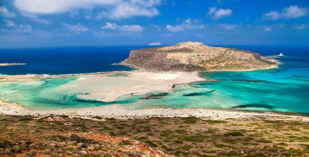 Te seducirá el hermoso paisaje de Creta