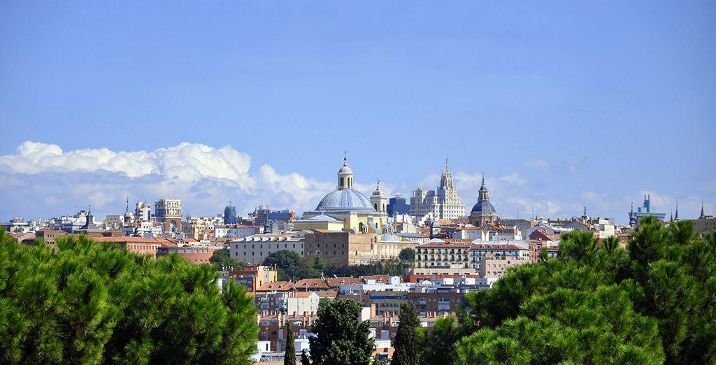 Deléitate con las vistas panorámicas de Madrid