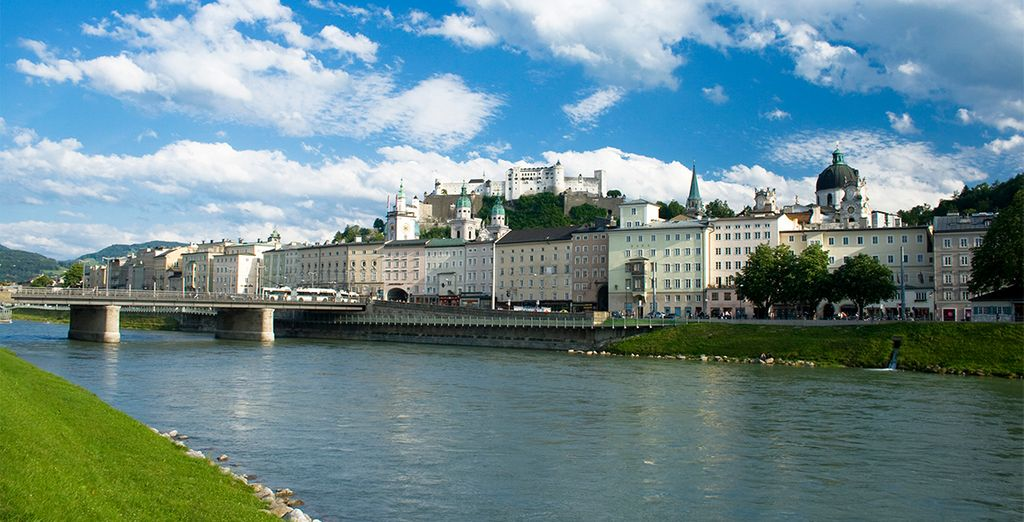 Pondrás rumbo a Salzburgo, la ciudad de la música
