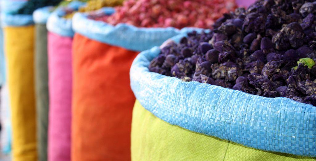 Colores y aromas que te atraparán