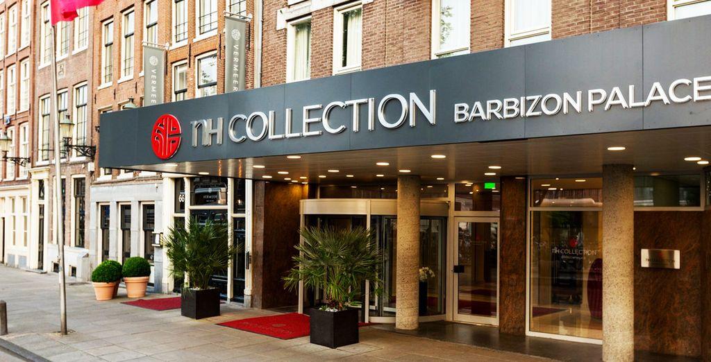 NH Collection Barbizon Palace 5* te espera