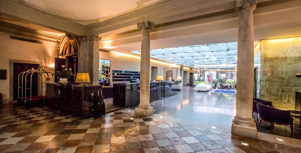 Bienvenido al hotel Monaco & Grand Canal 4*