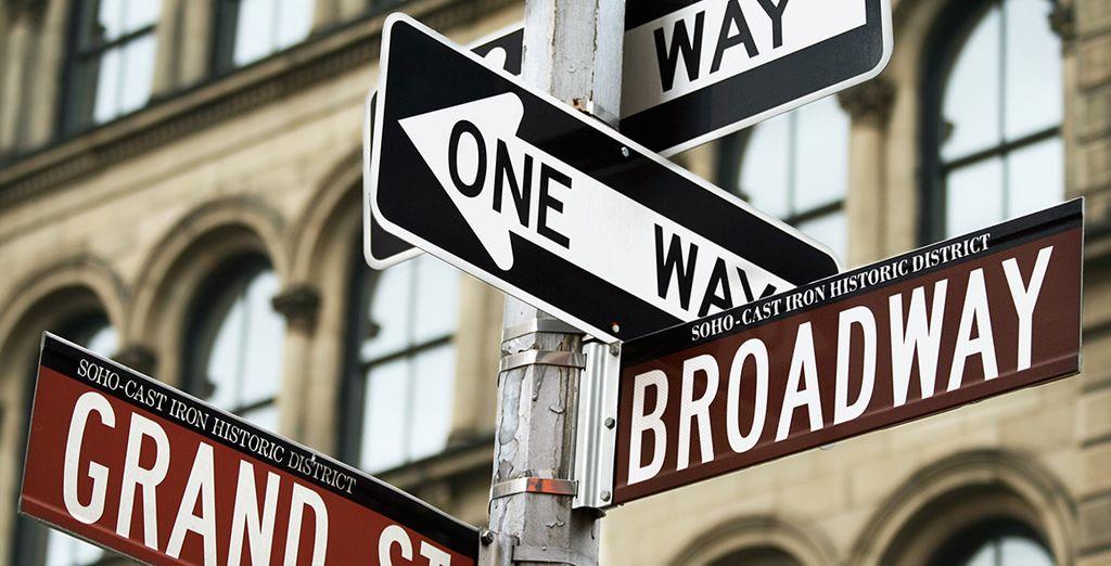 Pasea por sus calles y siente la esencia de Nueva York