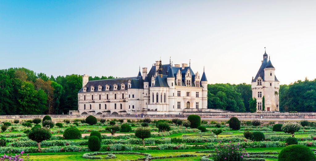 El Valle del Loira, también conocido como el Valle de los Reyes - Francia Medieval París