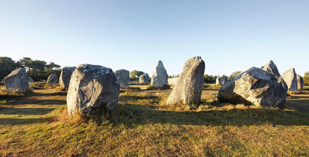 Carnac, el mayor centro de cultura megalítica con más de 3000 menhires