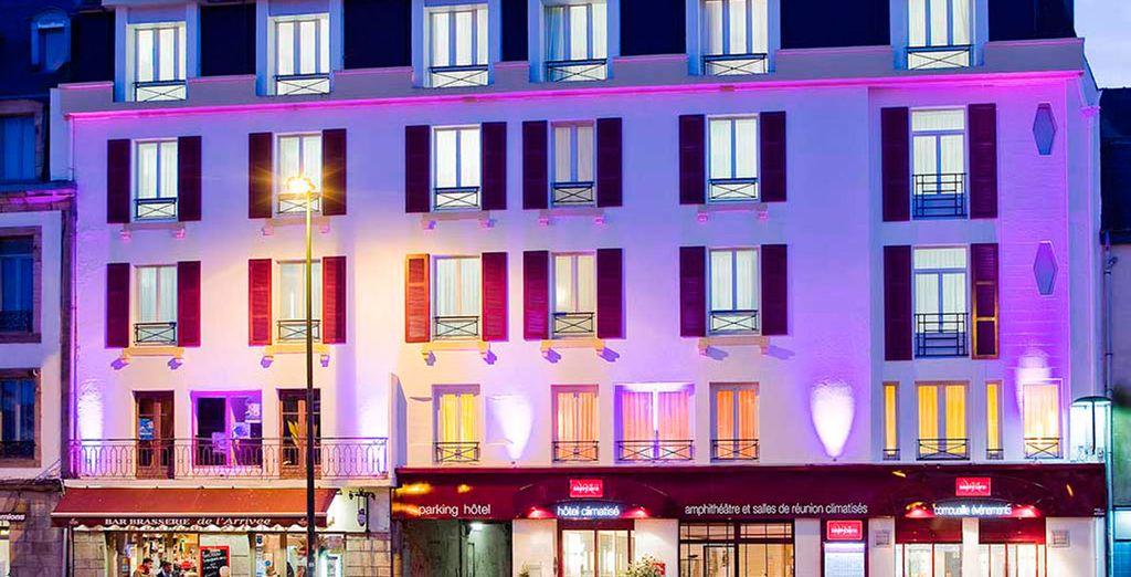 Mercure Quimper Centre 3*, será tu hotel en Quimper