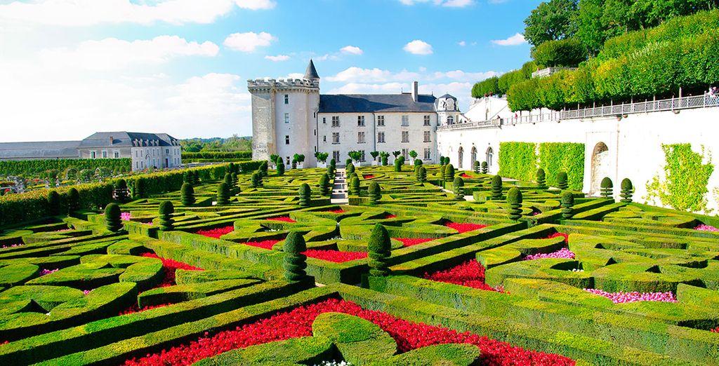 Villandry, el último de los grandes castillos Renacentistas edificados en las orillas del Loira