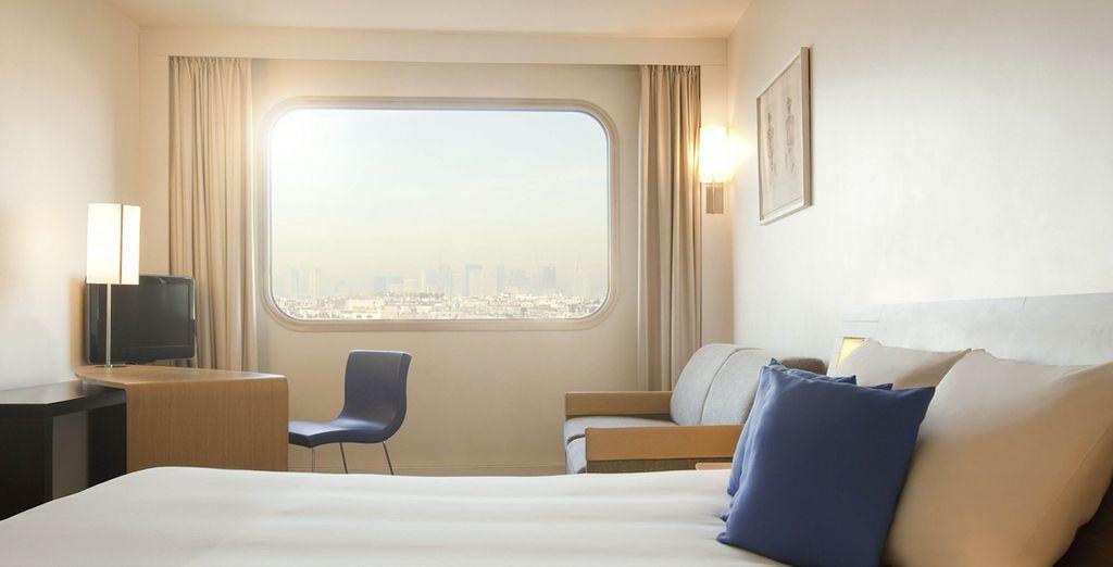 ... un hotel de 4 estrellas en el que disfrutarás de un descanso en mayúsculas