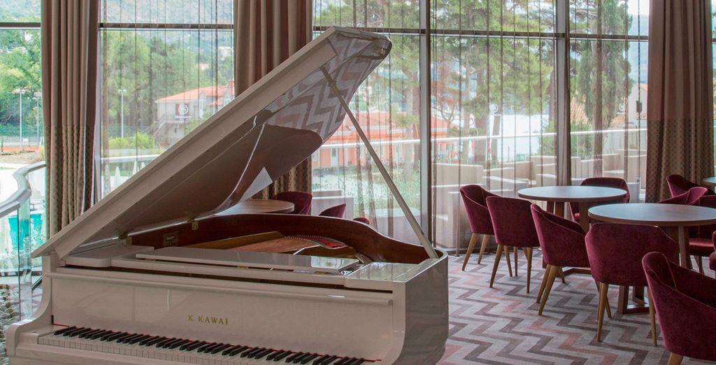 Saborea el sonido de su piano