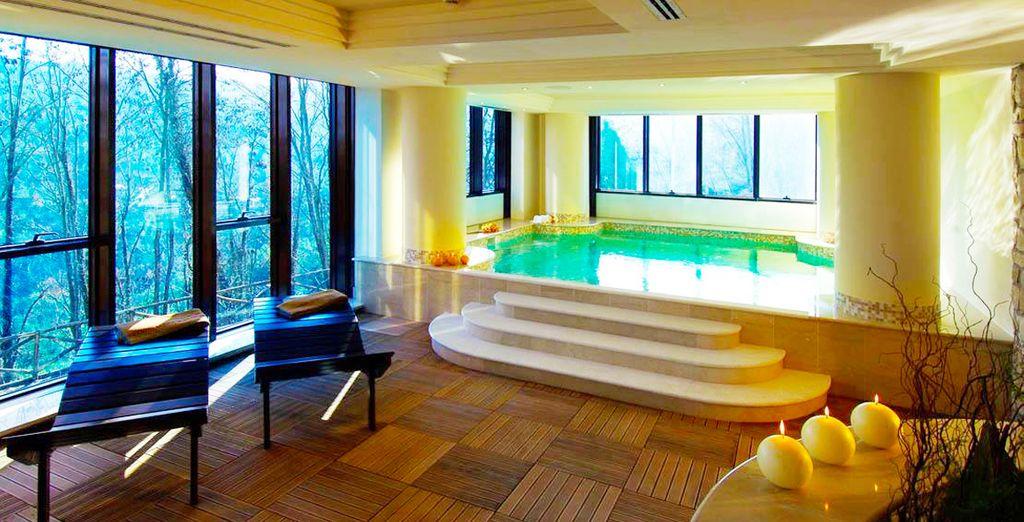 ¡Disfrutarás de acceso al spa, un placer exquisito!