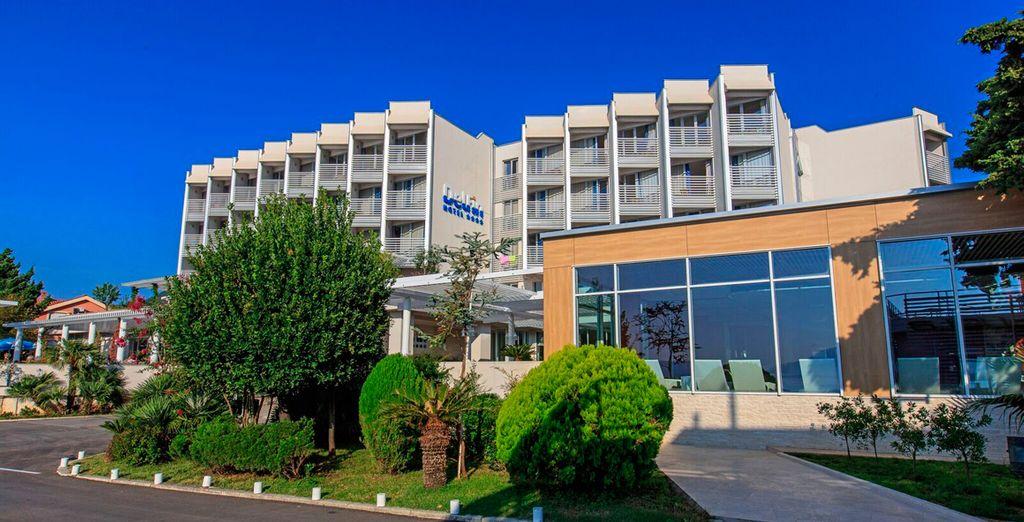 Hotel Delfin All Inclusive le da la bienvenida