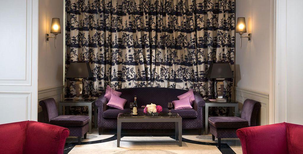 Un hotel clásico y elegante