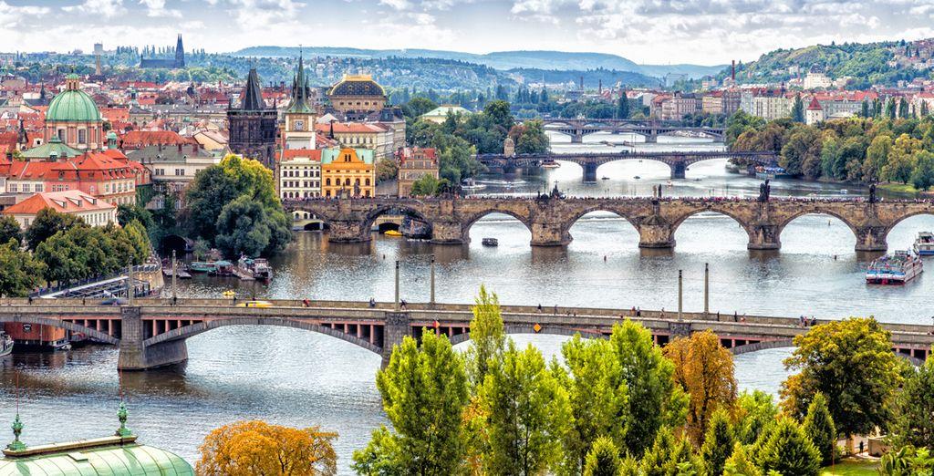 ¡Bienvenido a Praga!