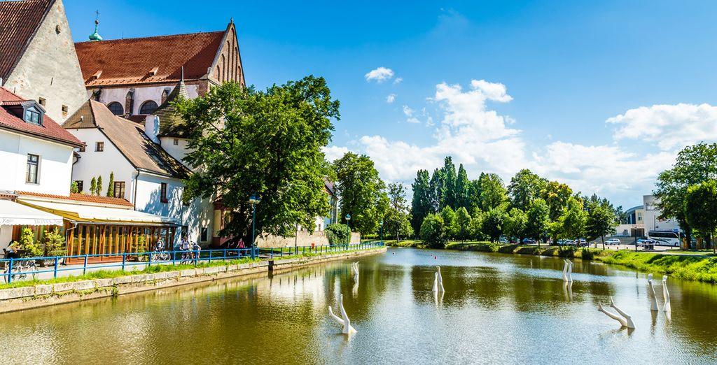Una ciudad medieval con mucho encanto