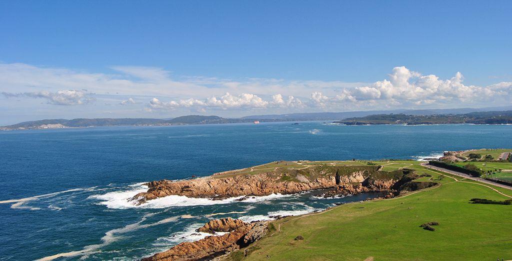 Explora las costas de A Coruña...