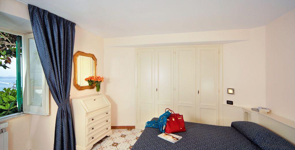 Descansa en tu habitación Clásica con vistas laterales al mar