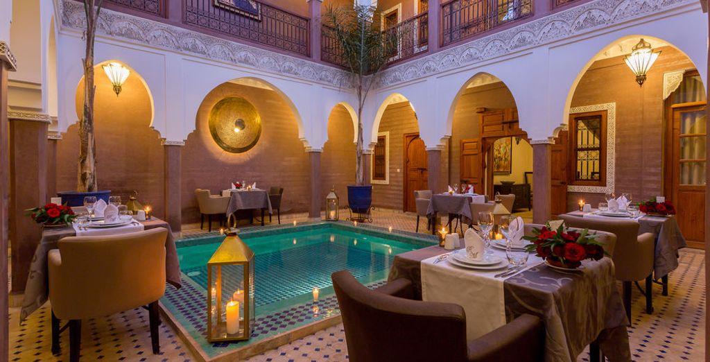 Tu alojamiento en Marrakech será Riad Magda & Spa