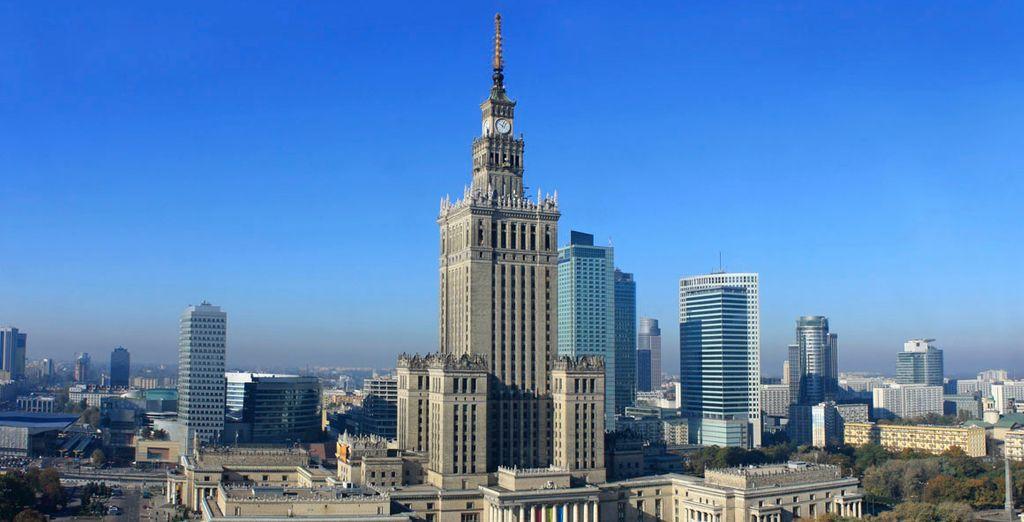 El Palacio de la Cultura y la Ciencia de Varsovia, el más alto de Polonia