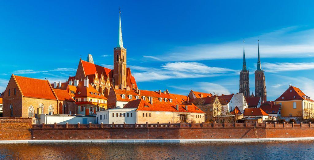 Un itinerario que te llevará a ciudades como Wroclaw