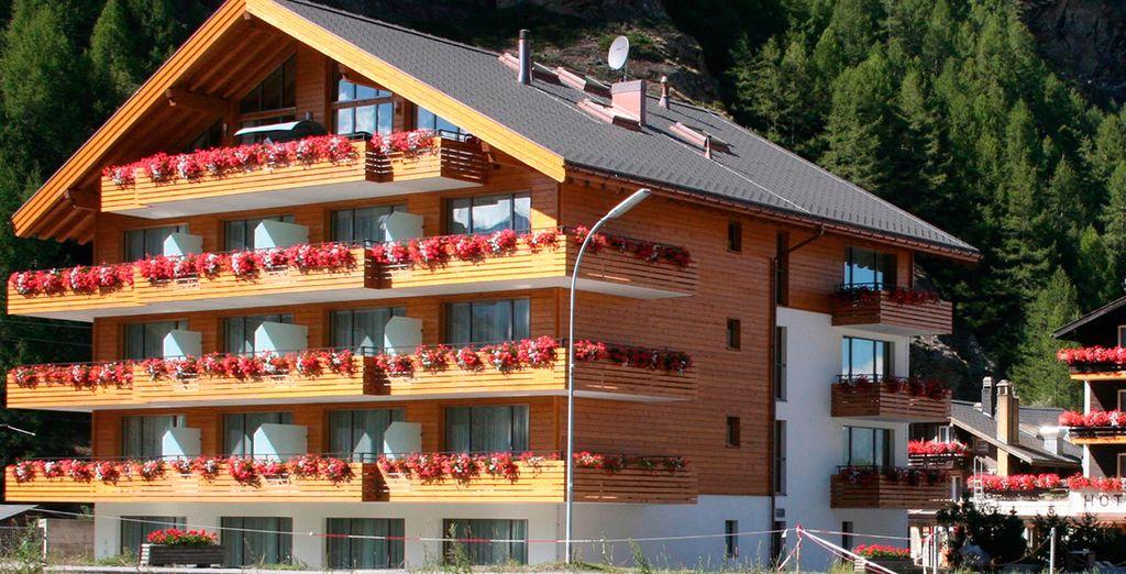El cálido y acogedor Hotel Welcome 3*, en Tasch
