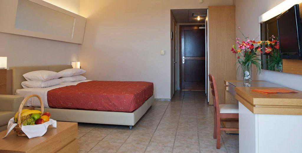 Amplias habitaciones para tu estancia