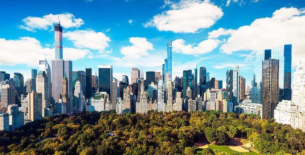 A cinco calles de Central Park y Times Square