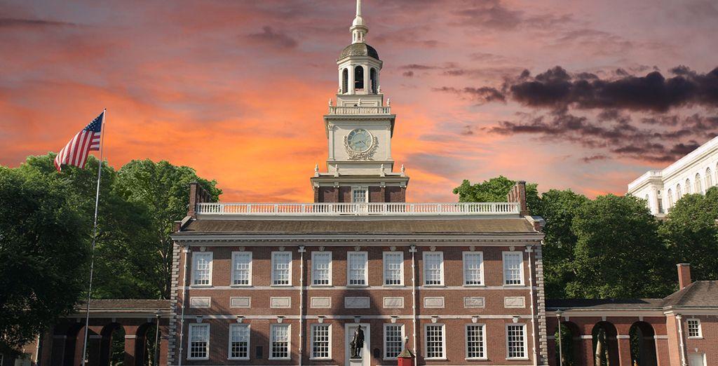 Visitarás Filadelfia, la quinta ciudad más poblada de EEUU