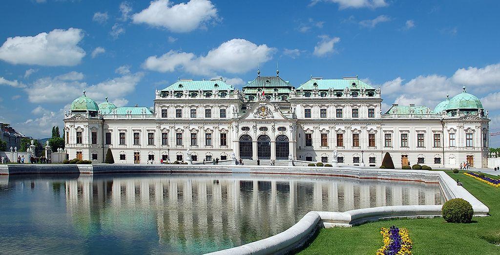 Conoce el Palacio de Belvedere...
