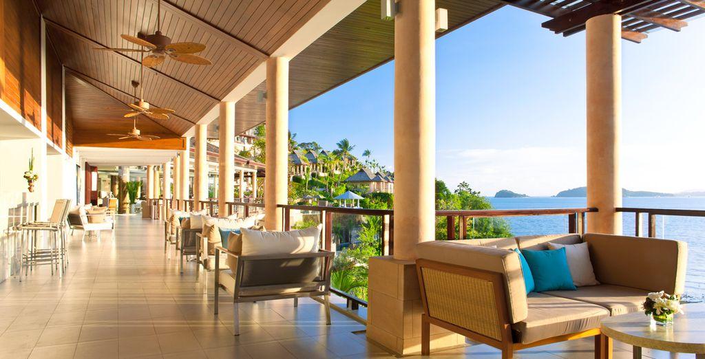 Relajación y tranquilidad en el MIX Lounge