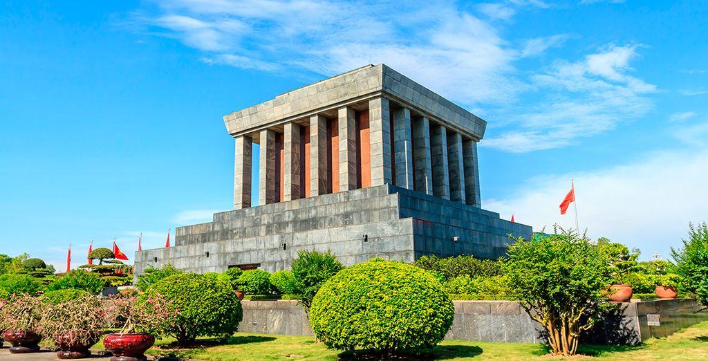 Visitaréis el Mausoleo de Ho Chi Minh