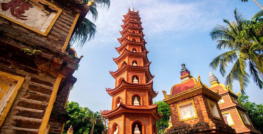 Hanói es una ciudad de más de mil años de historia