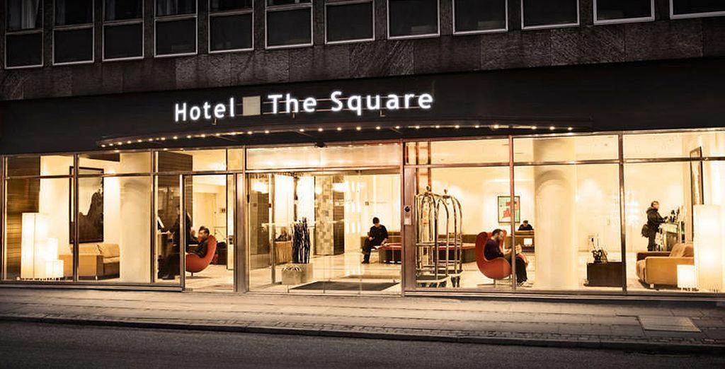 Tu estancia en Copenhague será en The Square Hotel 4*