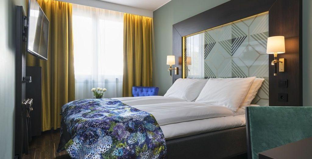 En Bergen te alojarás en el Thon Hotel Bergen Brygge 3*