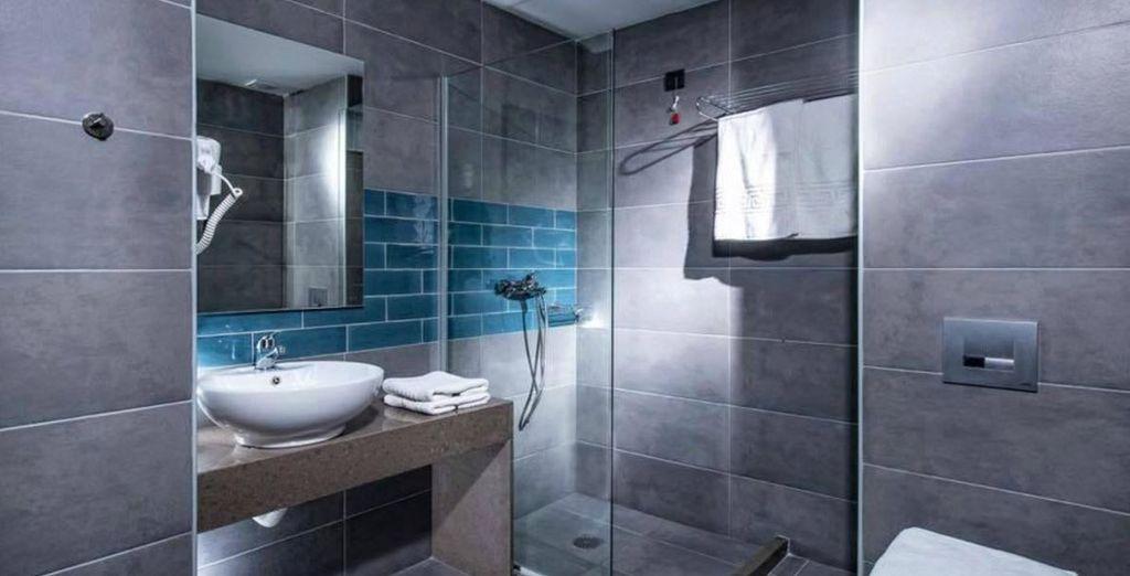 Tu habitación incorpora baño propio