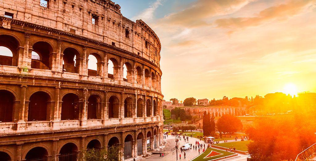 Disfruta de la historia de Roma