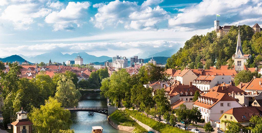 Podrás visitar Liubliana, capital de Eslovenia
