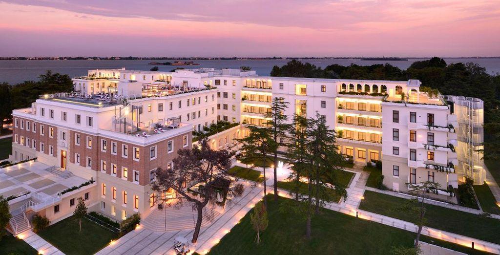 Bienvenido al Hotel JW Marriott Venice Resort & Spa. Un hotel que difícilmente olvidarás