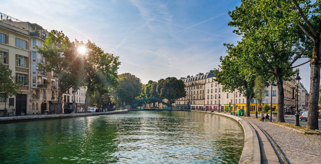 Renaissance Paris Republique 5* se sitúa muy cerca del Canal Saint Martin - Renaissance Paris Republique 5* París