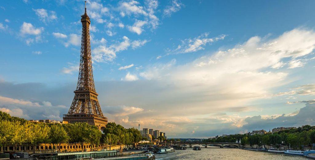 Empiezan tus vacaciones ¡París te espera!