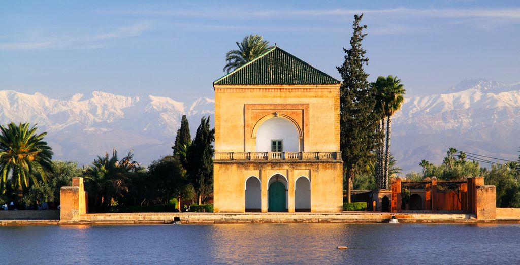 Los Jardines de la Menara, una auténtica obra de arte