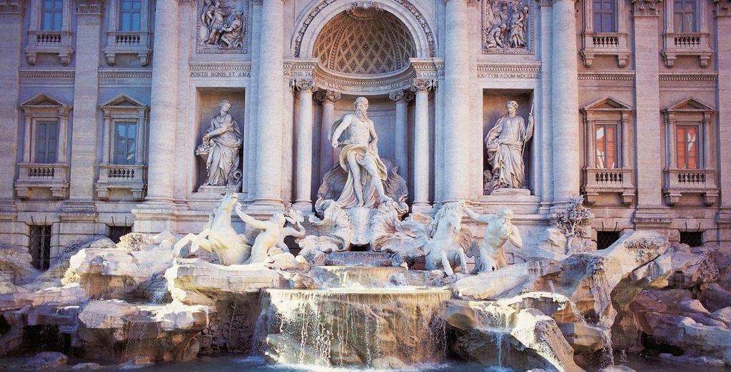 No te vayas sin tirar una moneda a la Fontana di Trevi