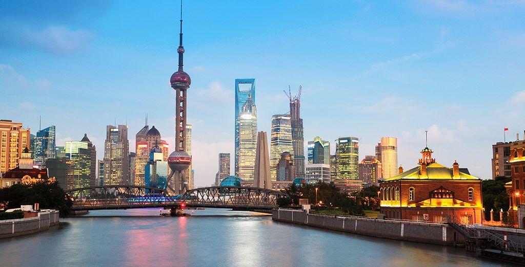 Tu viaje continuará hacia Shanghai