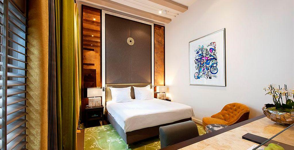 Una estancia confortable y sofisticada