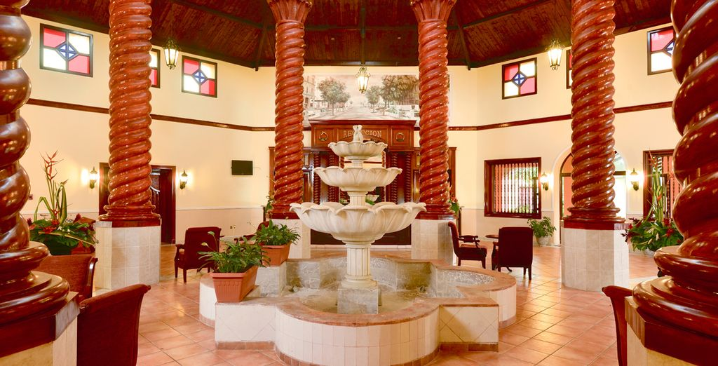 Un elegante interior