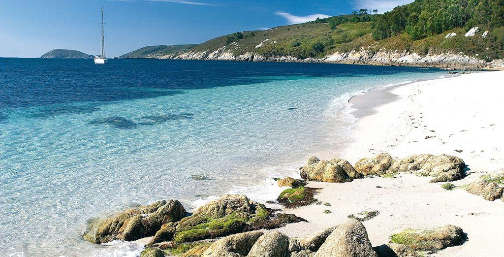 El mar de Ons, donde disfrutar del relax y la naturaleza en el hotel Spa Galatea 4*
