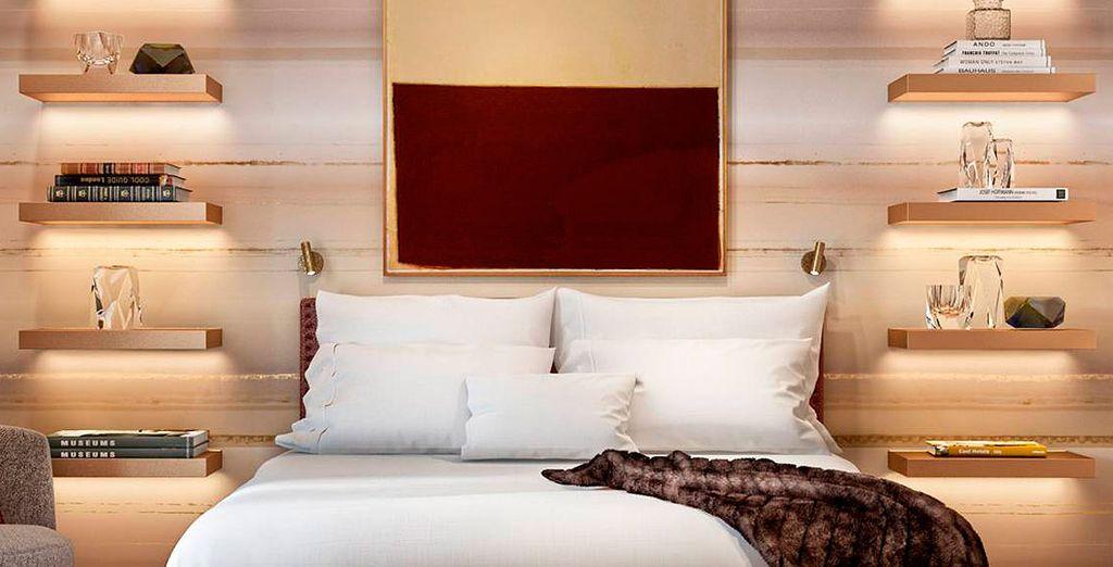 ¡Descansa en tu habitación Premium!