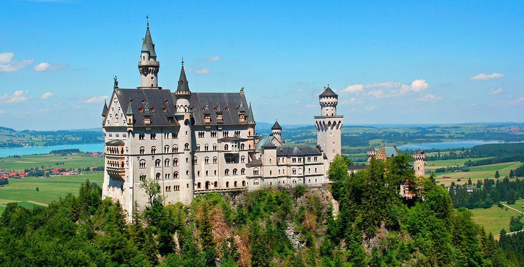 Visita el Castillo de Neuschwanstein...
