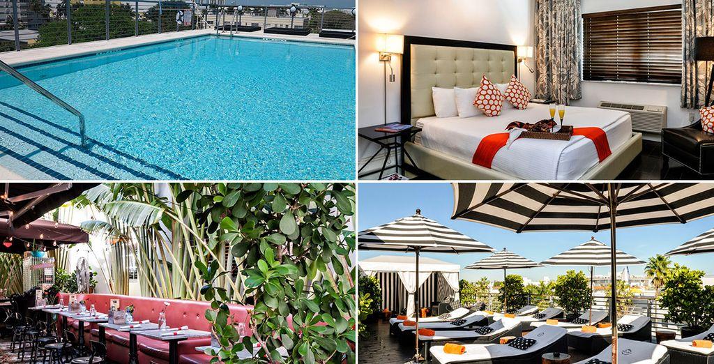 Tu primera noche en Miami, descansarás en Riviera Suites 4*