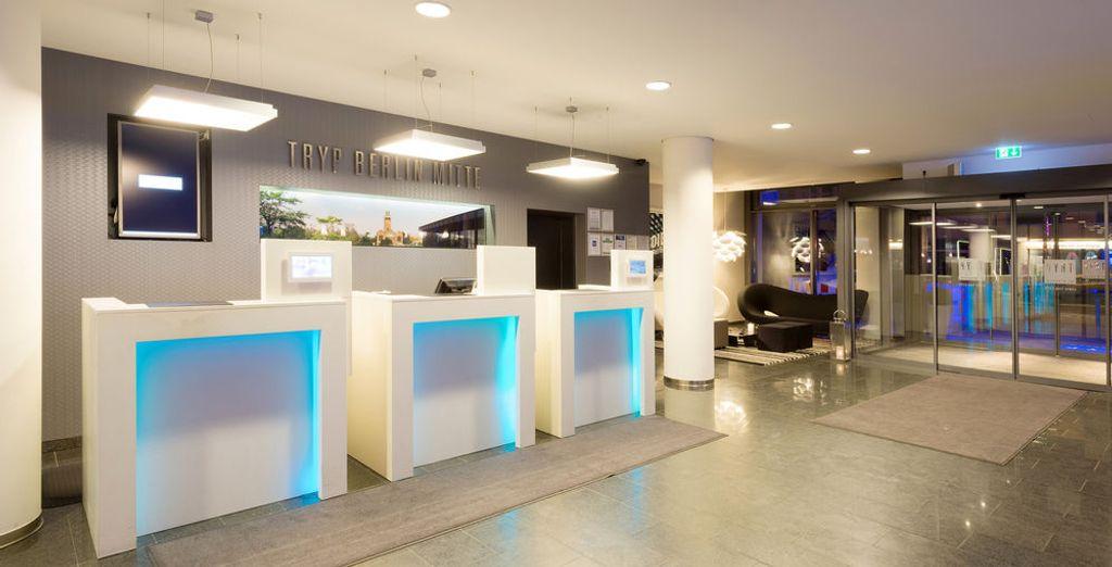 Estilo y modernidad adornan los complementos de este hotel